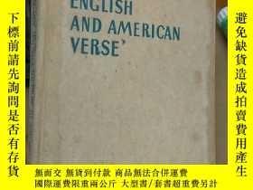 二手書博民逛書店AN罕見ANTHOLOGY OF MODERN ENGLISH