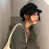 八角帽韓版百搭報童畫家貝雷帽英倫復古帽子【少女顏究院】