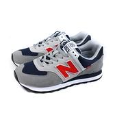 NEW BALANCE 574 運動鞋 復古鞋 灰色 男鞋 ML574SO2-D no895