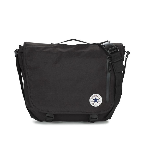 【GT】Converse 黑 側背包 素面 學生 書包 背包 郵差包 斜背包 斜挎包 手提包 單肩背 基本款