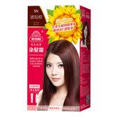 美吾髮 葵花亮澤染髮霜(5N 琥珀棕)40g+60g
