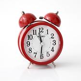 SEIKO復古紅色大聲公造型鬧鐘NV42