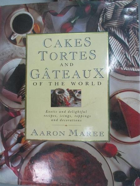 【書寶二手書T4/餐飲_DEG】One Hundred Fabulous Cakes and Tortes_Aaron Maree