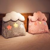 床上三角枕頭靠墊床頭靠枕靠背抱枕可愛臥室單人宿舍靠背墊可拆洗 LX 童趣屋