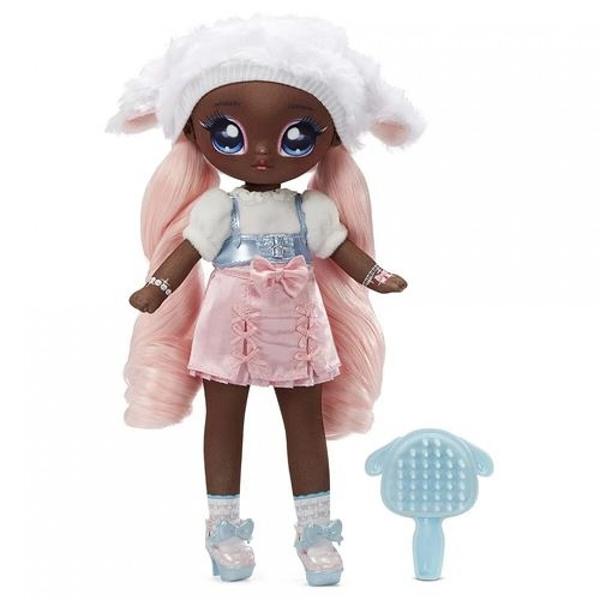 《 MGA Entertainment 》Na!Na!Na!砰砰驚喜11吋娃娃 - Lila Lamb(綿羊) / JOYBUS玩具百貨