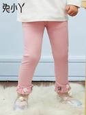 女童打底褲夏季裝2020新品女寶寶3棉6歲薄款幼兒外穿小童長兒童褲子