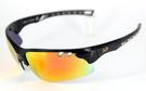AD-Bravo PCPL安全偏光鍍膜鏡片運動防風太陽眼鏡-套裝