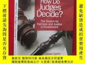二手書博民逛書店How罕見Do Judges Decide?: The Sear