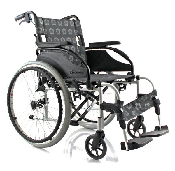 『展示出清』康而富時尚輔具 CT-3500 18 後大輪 經典LOGO布/照顧輪椅/外出輪椅