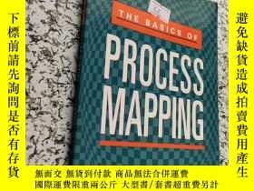 二手書博民逛書店the罕見basics of process mappingY2