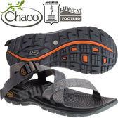 Chaco EZM01_HD21前導灰線 男冒險旅遊涼鞋-Z/Volv標準款 綁帶涼鞋