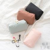 日韓簡約化妝包口紅便攜補妝小包旅行防水收納袋【極簡生活】