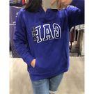 【蟹老闆】GAP 女帽T 藍紫色