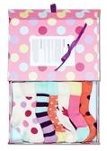 Happy socks 襪子  瑞典設計名牌6雙女童襪圓點禮盒組