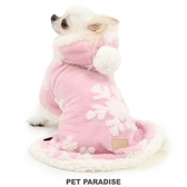 【PET PARADISE 寵物精品】PP 2020新款 粉色少女雪花懶人毯(3S/SS/S) 寵物衣服 秋冬新品