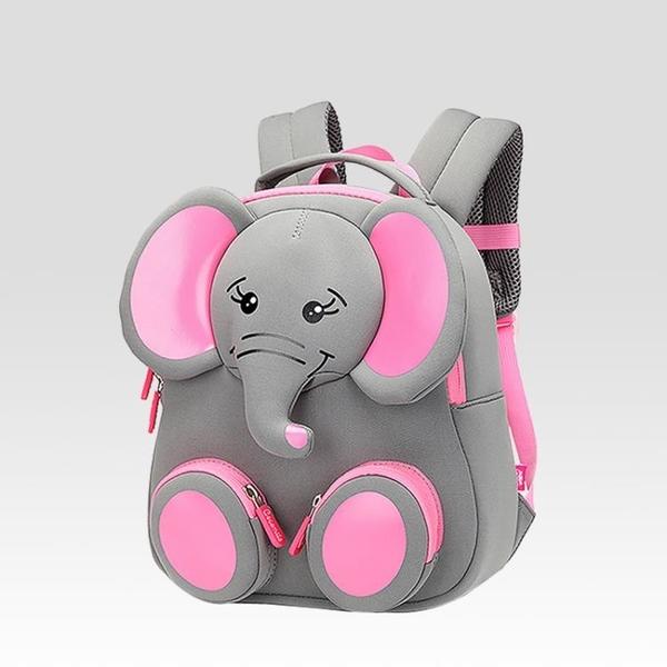 兒童幼兒園書包2018新款3-4歲男女童寶寶上學5可愛大象雙肩背包潮