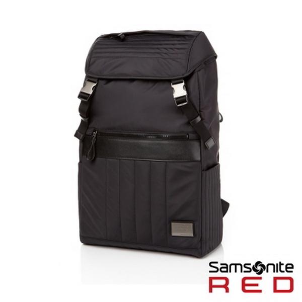 Samsonite RED 新秀麗 (活動價6折) DENEB 街頭潮流後背包(S)-時尚黑 可放筆電15吋