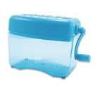 《享亮商城》Q04801 蔚藍海色 直碎型手動式碎紙機 ABEL