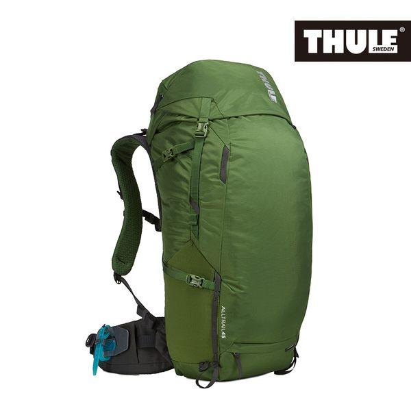THULE-AllTrail系列45L男用登山包-綠