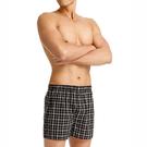 三槍牌 經典全棉型男平織印花平口褲~3件組 隨機取色