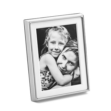 丹麥 Georg Jensen Deco Picture Frame Large 簡約 立體飾邊 銀色相框 大尺寸
