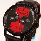 【萬年鐘錶】MINI Cooper Swiss Watches 簡約風腕錶- 紅x黑    42mm  MINI-160643