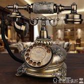 復古電話 GDIDS仿古電話機歐式復古田園時尚創意插卡電話機家用座機 爾碩LX