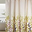 時尚高級加厚型防水浴簾-田園楓葉