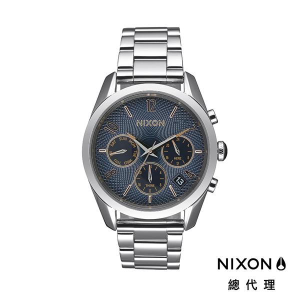 【官方旗艦店】NIXON BULLET 36 幾何圖形 銀藍 潮人裝備 潮人態度 禮物首選 小資女首選