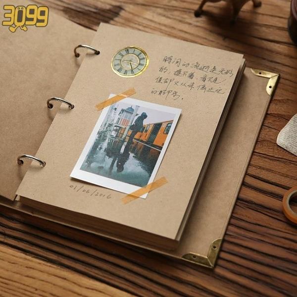 手賬本小清新風日記本男生生日禮物活頁少女心便宜閨蜜兩本筆記本