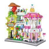 loz街景迷你微鉆小顆粒積木 益智拼裝組裝玩具男孩女孩7-10歲成人