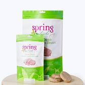《 Spring Naturals 曙光》犬用無穀生食凍乾 - 火雞肉餅 2.5盎司 狗狗飼料再升級