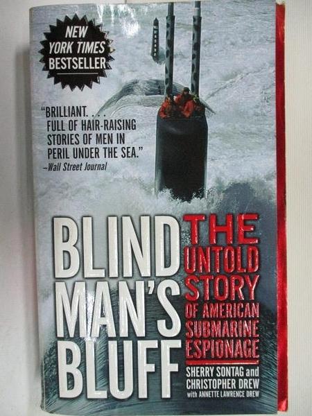 【書寶二手書T5/原文小說_AFP】Blind Man s Bluff-The Untold Story of American…