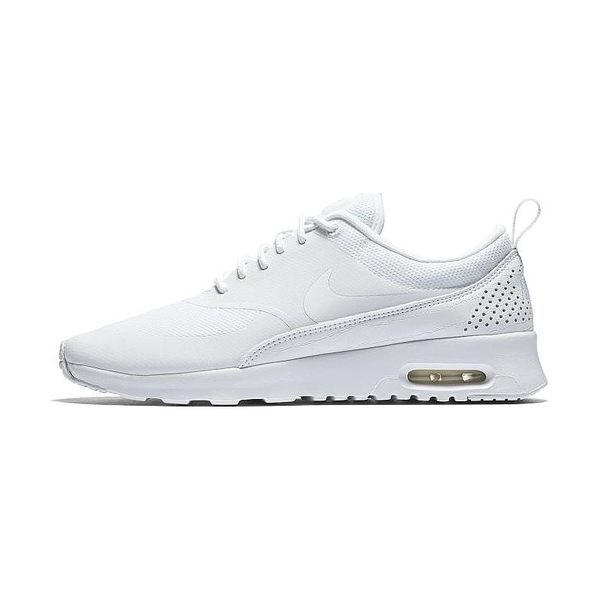 *Nike Wmns Air Max Thea 白 全白 輕量 透氣 氣墊 運動 網布 女鞋 599409-104