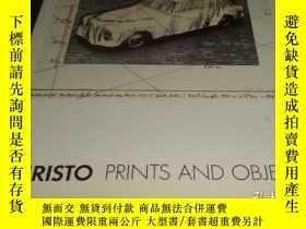 二手書博民逛書店2手英文罕見Christo: Prints and Objects 克裏斯托 版畫和物體 sdd78Y2428