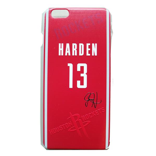 NBA官方授權正版 iPhone 6 手機殼 (火箭隊 James Harden 大鬍子 哈登)