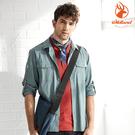 WildLand荒野 0A81208 男彈性抗UV長袖襯衫 / 城市綠洲(防曬、雙向彈性、布挺)