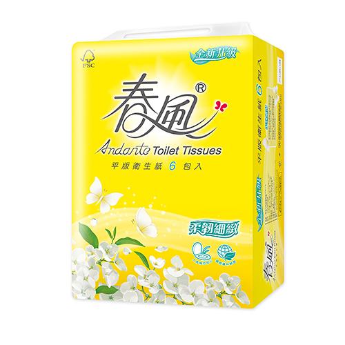 春風 平版衛生紙300張*6包【愛買】