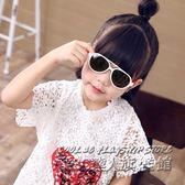 兒童戶外太陽鏡男童女童寶寶時尚墨鏡偏光眼鏡軟材質防紫外線