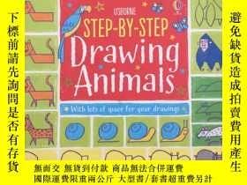 二手書博民逛書店Step-by-Step罕見Drawing Animals 一步