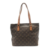 LOUIS VUITTON 路易威登 原花肩背包 小天心包 Cabas Piano M51148【BRAND OFF】