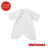 MIKI HOUSE BABY 日本製 彩色星星新生兒蝴蝶衣