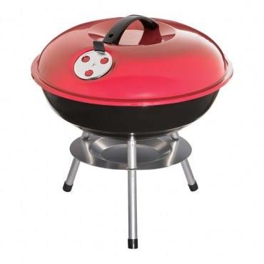 14吋碟型烤肉爐附蓋 紅