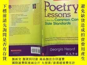 二手書博民逛書店Poetry罕見Lessons to Meet the Common Core State Standards: