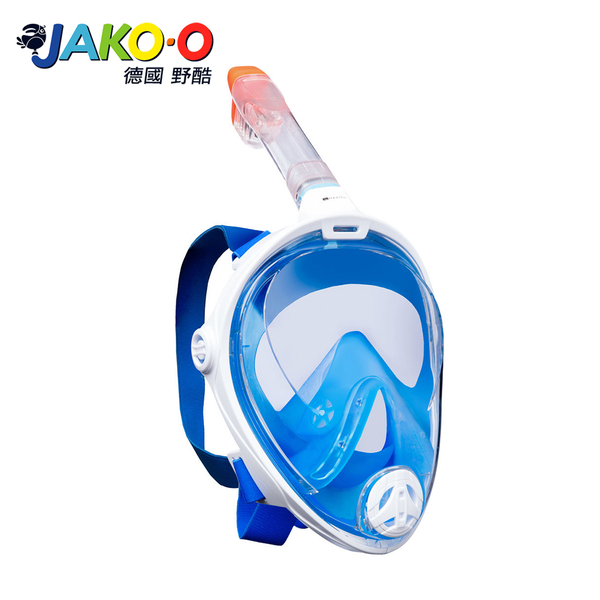 JAKO-O德國野酷-全罩式浮潛呼吸面罩