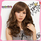 *MoKoShOp*甜美眾人目光首爾女孩時尚瘋中長捲髮全頂假髮【LY796】
