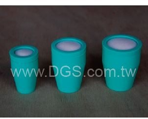 《Shin Etsu》透氣塞 高透 氣 內塞型 Stopper, for Test Tubes, Center Sponge, Silicone