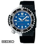 SEIKO PROSPEX 銀框藍面水鬼復刻膠帶潛水錶 43mm 7N36-0AG0B SBEE001J 公司貨 | 名人鐘錶