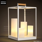 INPHIC- 北歐現代簡約客廳臥室床頭燈 鐵藝蠟燭溫馨創意時尚檯燈_S197C