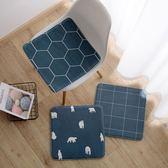 春季上新 記憶棉回彈坐墊椅墊辦公室椅子坐墊加厚餐椅凳子座墊家用沙發墊子